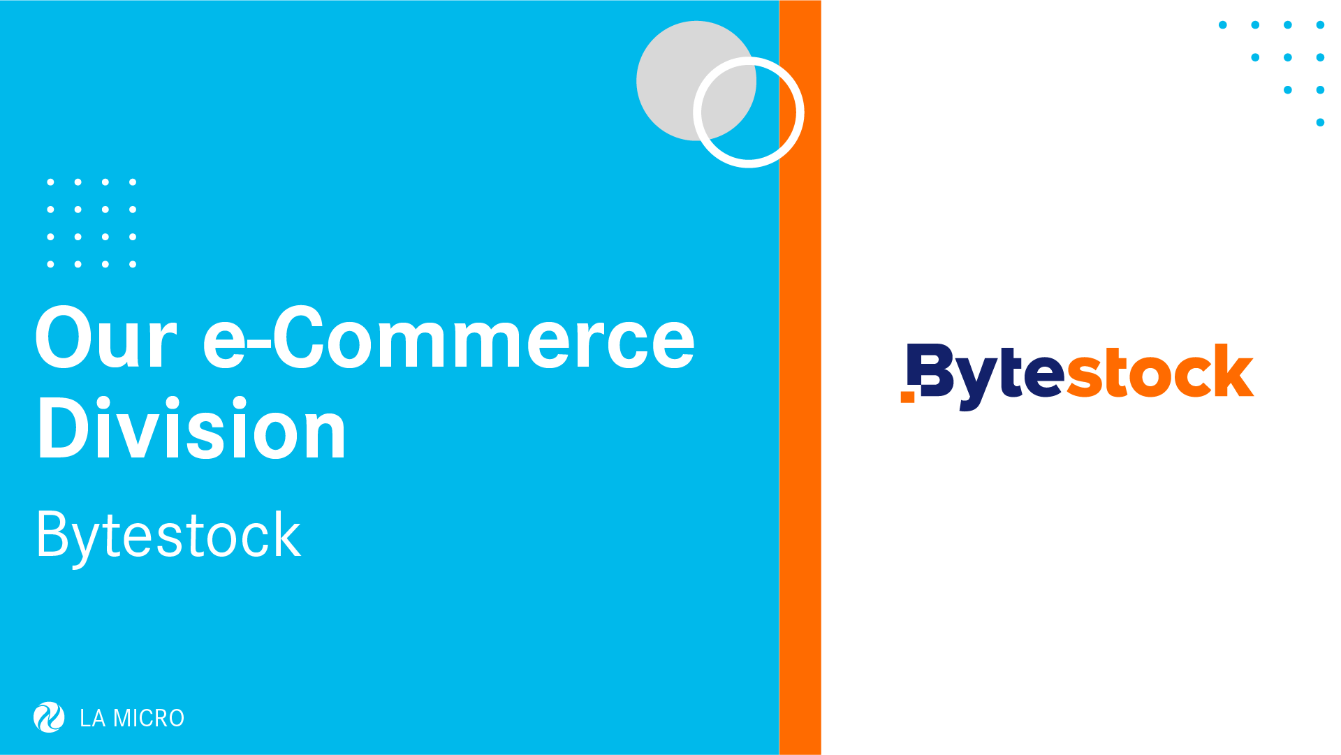 Meet Bytestock – The eCommerce Division