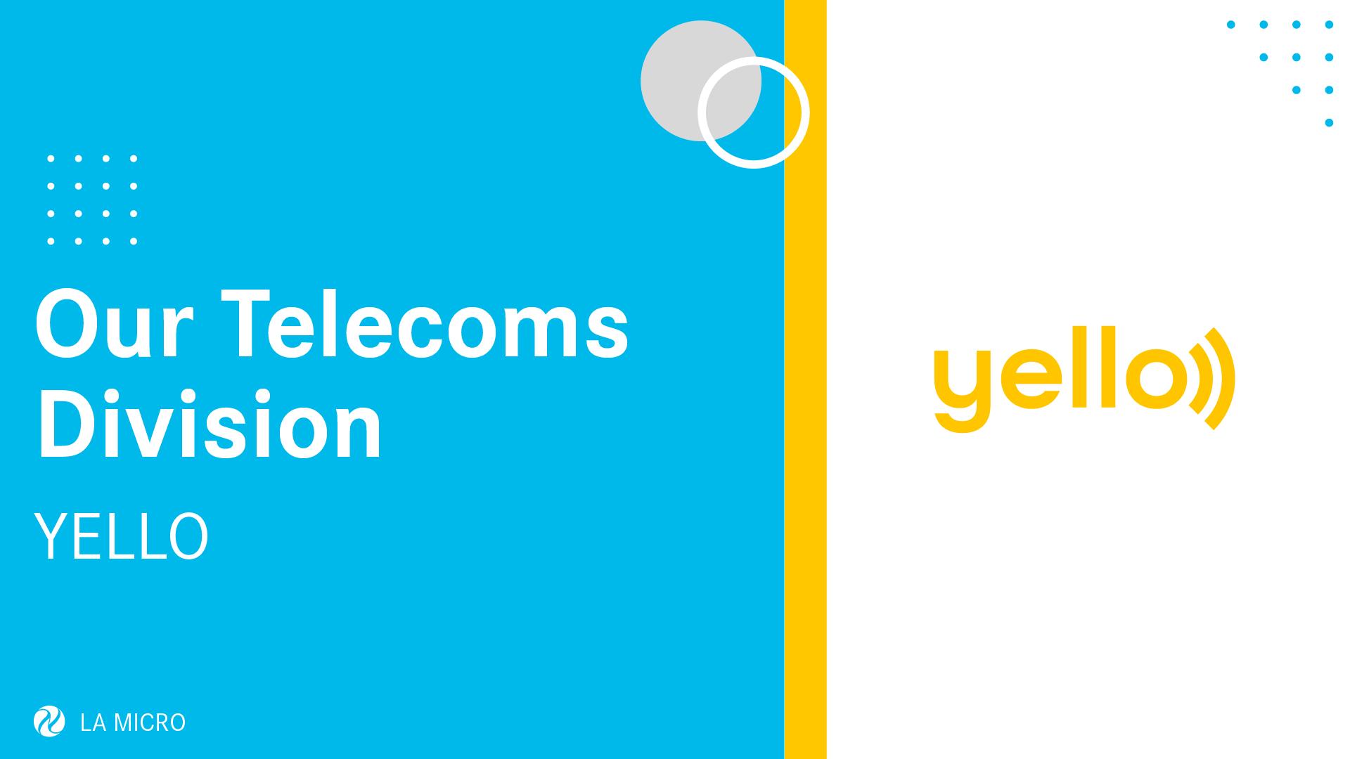 Yello Telecoms Division